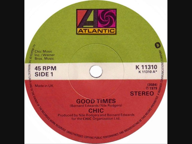Chic - Good Times (Dj