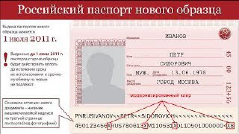 Криптошифр в паспорте РФ. Модернизированный клер. Какую бомбу вы носите в карман...