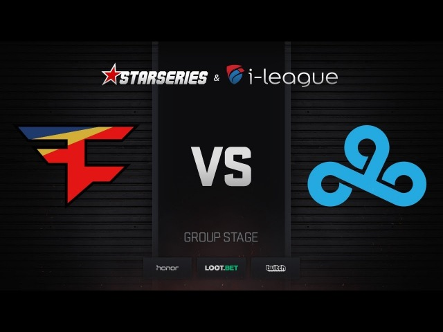 FaZe vs Cloud9, map 1 cache, StarSeries i-League Season 4 Finals