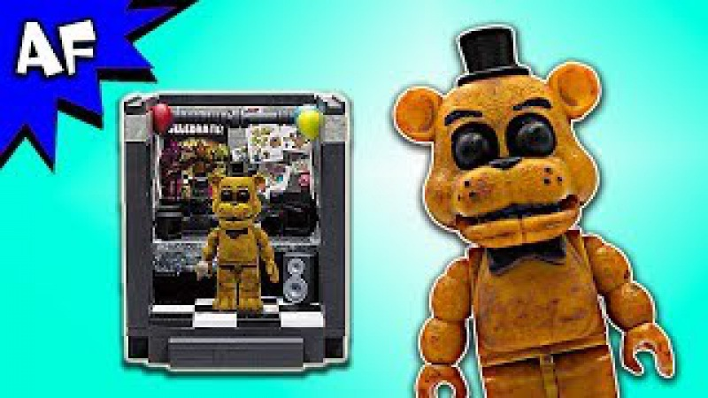 Five Nights at Freddy's The OFFICE Speed Build - FNAF McFarlane Toys LEGO compatible set
