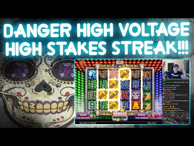 HIGH Stakes STREAK on Danger High Voltage