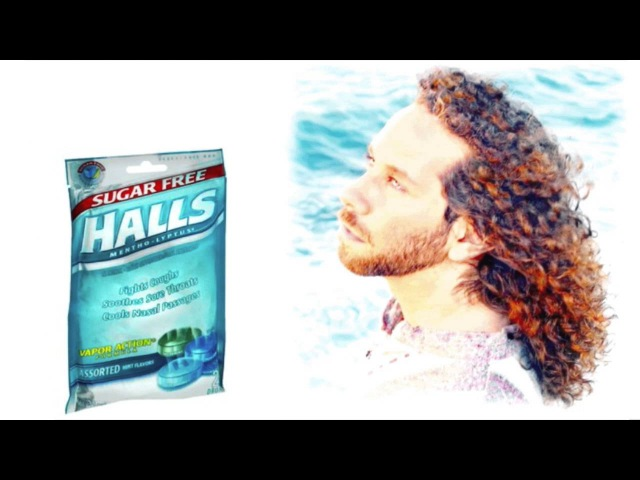 Hall's Cough Drops Website BG Music
