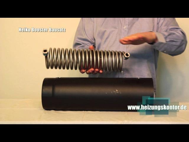 Abgaswärmetauscher Bausatz Water Heat Exchanger für wasserführende Wärmetauscher selber bauen
