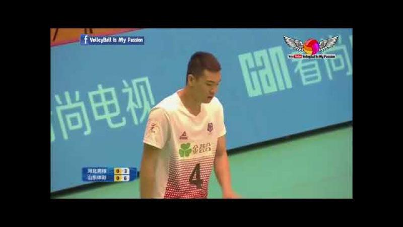 Hebei (河北) vs Shandong (山东) | 12-11-2017 | Chinese Men's volleyball super league 2017/2018
