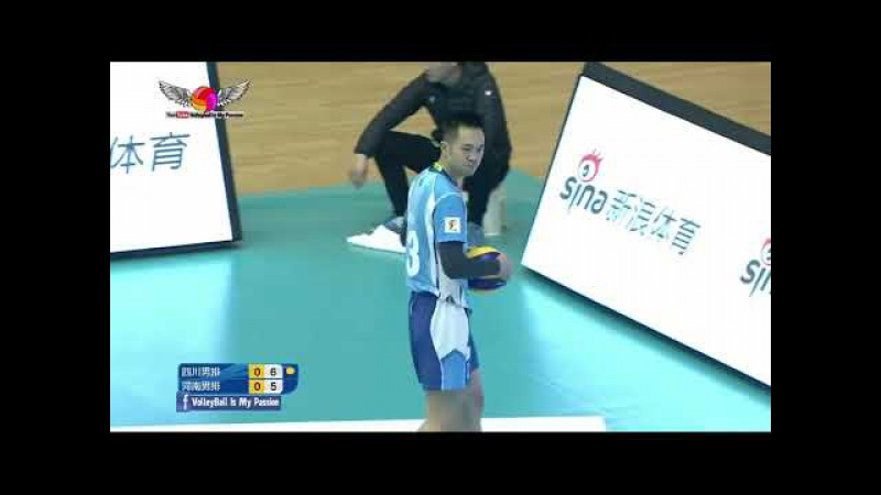 Henan (河南) vs Sichuan (四川)|14-01-2018| Chinese Men's volleyball super league 2017/2018