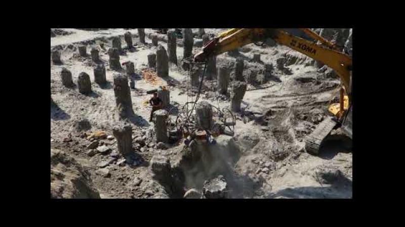 Round Pile Cutter Hydraulic Pile Breakers—Hydraulic pile breaker