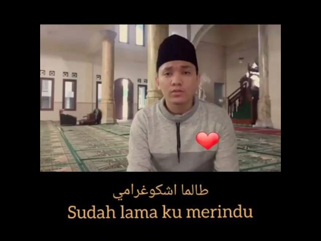 "BERANIBERHIJRAH YUK⤴ on Instagram: ""💙💙💙💙 Masya Allah...Allahumma sholli 'ala Muhammad wa 'ala ali Muhammad . @DOA_MUSLIMAH 🎬@pengagum_sholawat @dhe..."