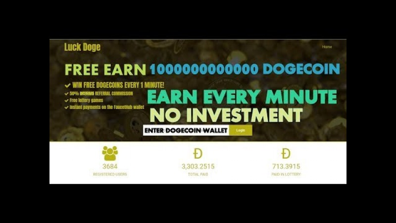 WIN FREE 10000000000 Sat DOGECOINS EVERY 1 MINUTE Lottery   Instant Withdraw   MiningGurus !