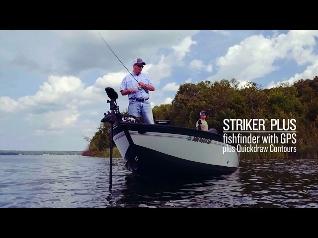 STRIKER™ Plus – The fishfinder with GPS and Quickdraw Contours mapping