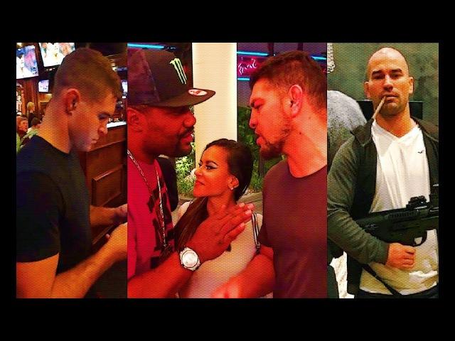 Beef! Nick Diaz tries to steal Rampage Jackson's date; Artem Lobov sends message to Andre Fili Cruz