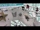 Maria Tolokonina stands the Ice-climbing World Cup (Мария Толоконина на Кубке мира по ледолазанию)