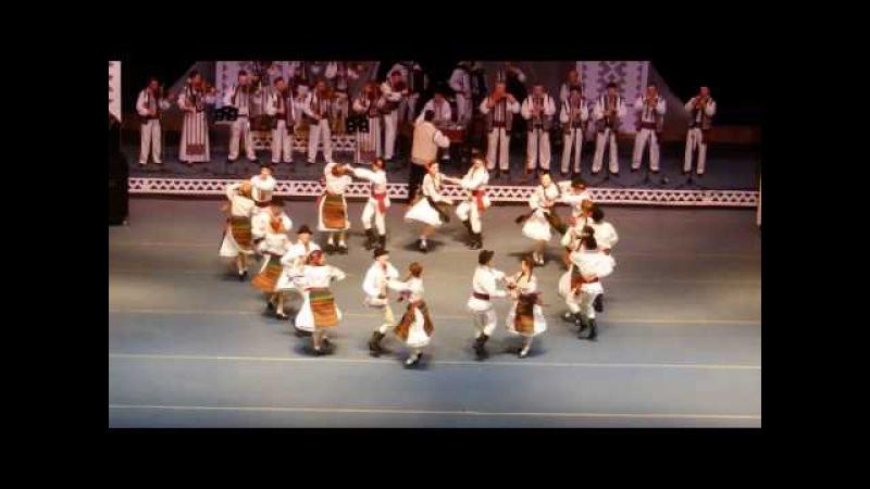 Romanian traditional dance (Hora din Moldova)