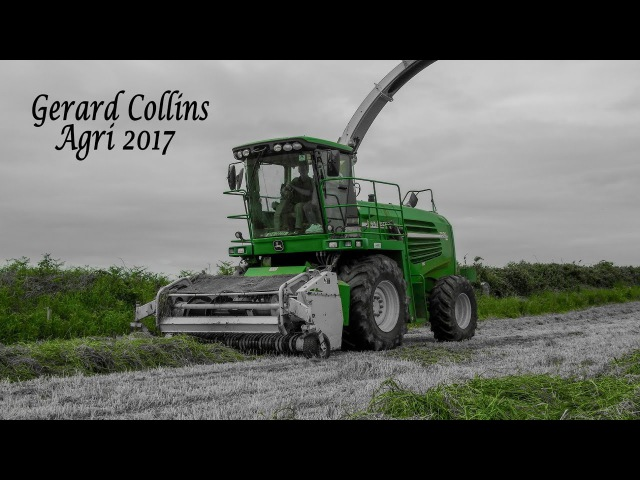 Silage 2017. Gerard Collins Agri.