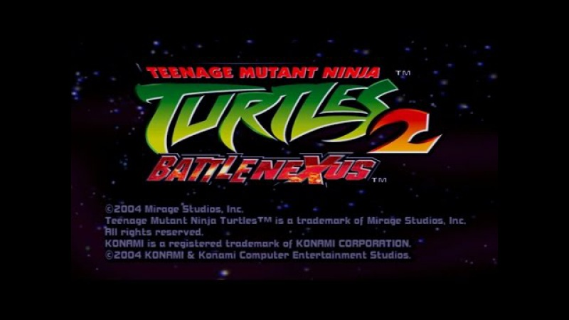 TMNT 2 Battle Nexus 2004 Game Movie All Cutscenes