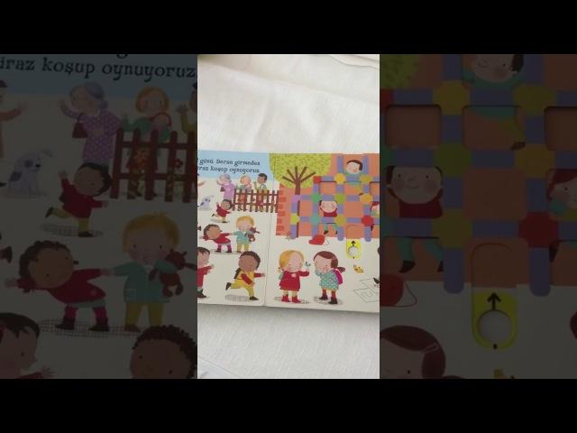 Hareketli Okul2-5 Yaş Çocuk Kitabı