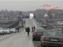 Евгений Куйвашев и Игорь Левитин открыли движение по новому автомобильному мосту через Транссиб