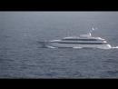 Feadship Drizzle cruising of Monaco