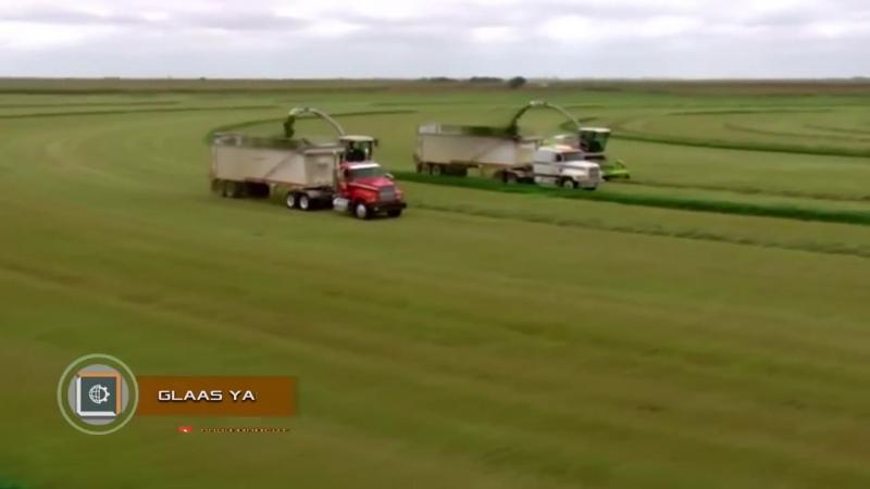 Обработка почвы. Невероятная сельхозтехника