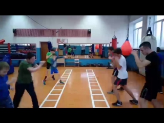 Секция бокса. г.Великие Луки
