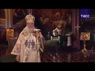 Рождественское богослужение в Москве