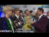 [RUS SUB][21.11.17] BTS Interview for Extra TV (2) @ The American Music Awards