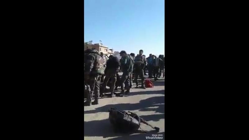 Группа аль-Шахид перебрасывается из Дейр-эз-Зора в Харасту