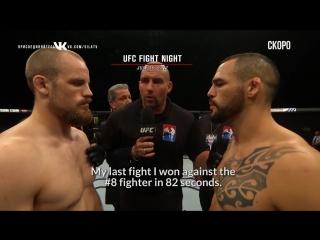 Fight Night Winnipeg  Santiago Ponzinibbio vs Mike Perry - Two Strikers to Battle