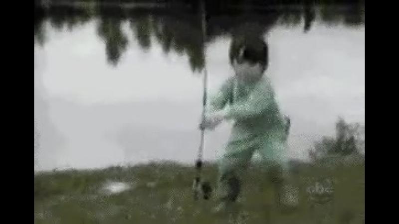 Убежал с рыбалки)