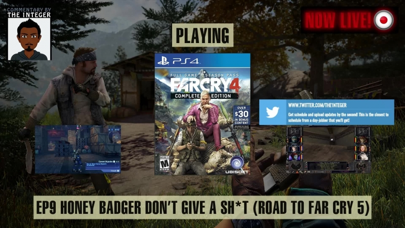 Far Cry 4: Way of the (Honey) Badger - 1 Campaign, 2 DLCS, 4 Days Left; The Road to Far Cry 5 (60% Blind LP) - EP 9 [Can we do i