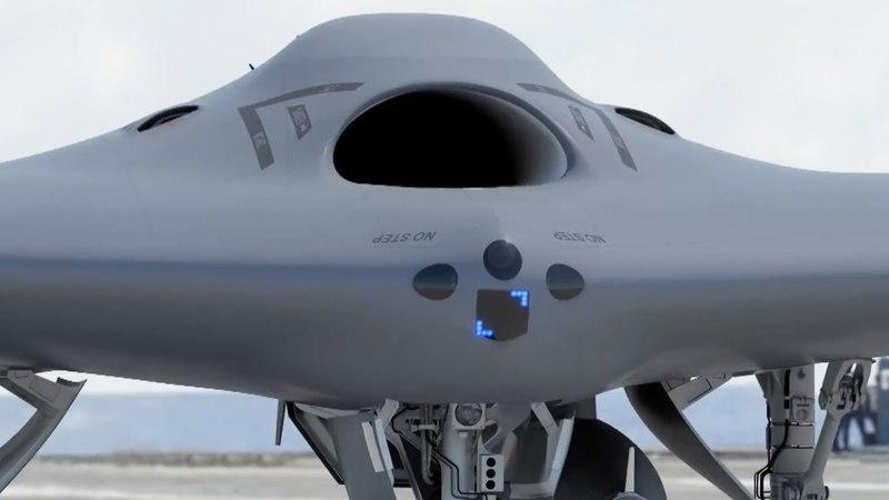 Lockheed Martin Unveils MQ-25 Fuel Drone Concept