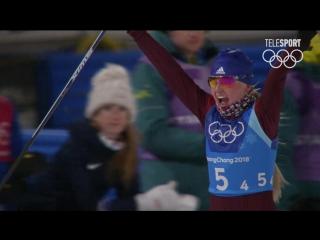 Лыжные Гонки. Женщины. Эстафета. Лучшие Моменты. #Россия