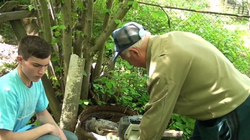 Волонтеры помогают ветерану ВОВ