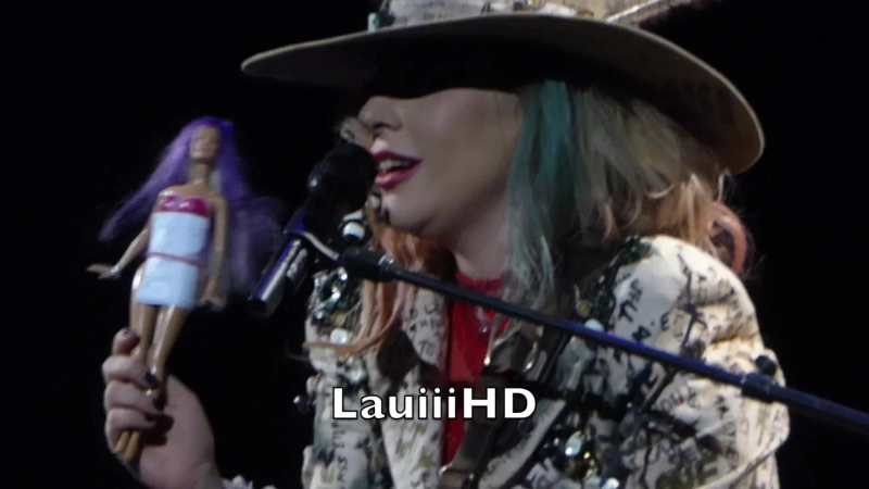Lady Gaga - So Happy I Could Die (snippet) (Live @ Jaonne World Tour; Антверпен, Бельгия) (22.01.2018)
