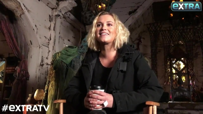 Eliza Taylor about relationship of Clarke and Madi