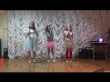 Девчонки младшей группы с песней Ирина Билык -
