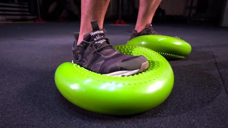 Балансировочный диск US MEDICA. Игорь Ким, упражнения на балансировочной подушке