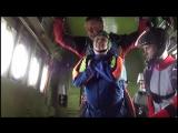 Прыжок Леденёвой. Взгляд с высоты