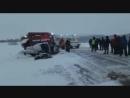 Авария унесшая жизни женщины и двух детей в Башкирии попала на видео