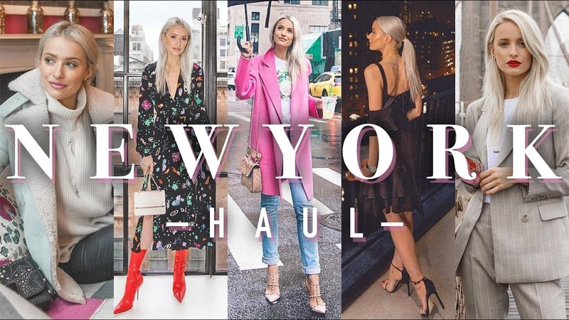 WHAT I WORE IN NEW YORK | FASHION WEEK HAUL