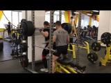 Поляков Николай Присед 250 кг
