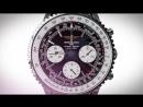 Часы Breitling Navitimer в подарок портмоне Montblanc и нож кредитка