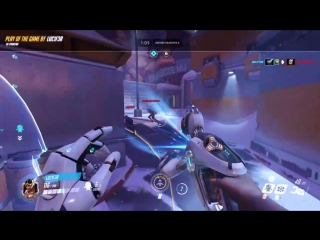 Overwatch - My Play of The Game #14 (Symmetra)