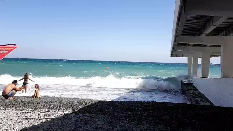 ялта масандровский пляж