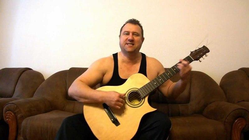 Песня под гитару Сабля