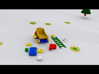 Развивающие Мультики Для Малышей_ Грузовик Тёма и Вагончик (Мультфильм Для Детей Про Машинки)