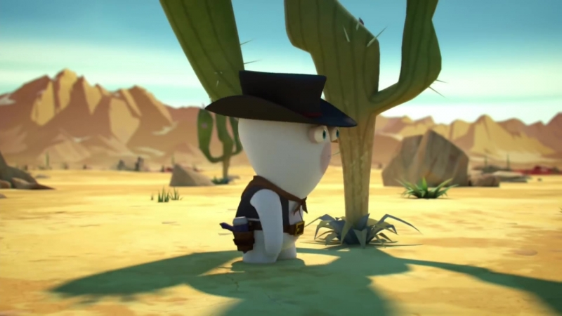 Rabbids Invasion - Wild West Rabbid