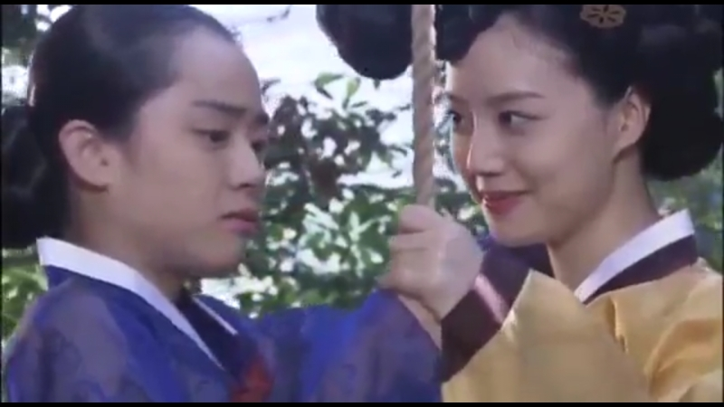 Художник ветра ☞ 4 серия Юн бок и Чжун Хьян