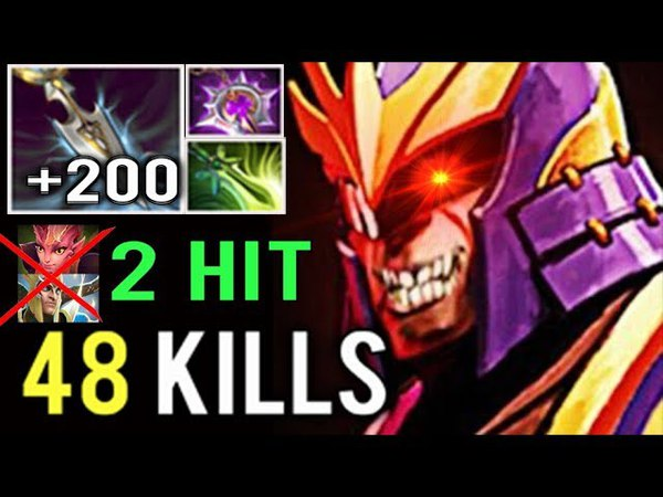 NEW RECORD WTF 48 KILLS 200 Int Stole Crazy Silencer Farming Heroes by KingR? Crazy Game Dota 2