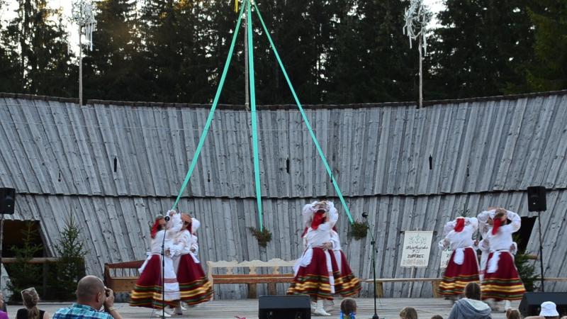 Ансамбль Топотушки г Солигорск танец Полька