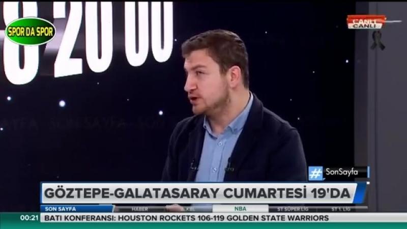 Son Sayfa 15 Mayıs 2018 I Uğur Karakullukçu Galatasaray Yorumları